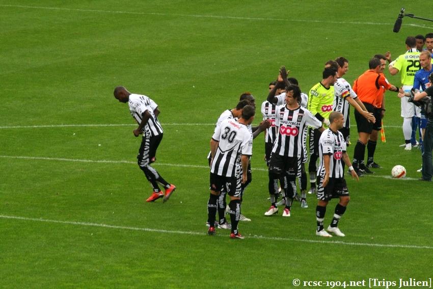 R.Charleroi.S.C. - K.A.A.Gent. [Photos] 1 - 3 1008221136281011236612490