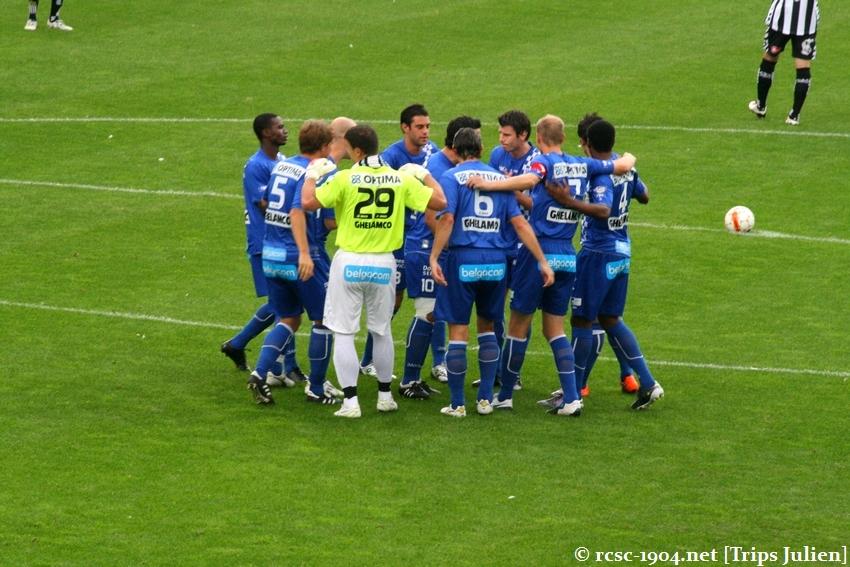 R.Charleroi.S.C. - K.A.A.Gent. [Photos] 1 - 3 1008221137361011236612501
