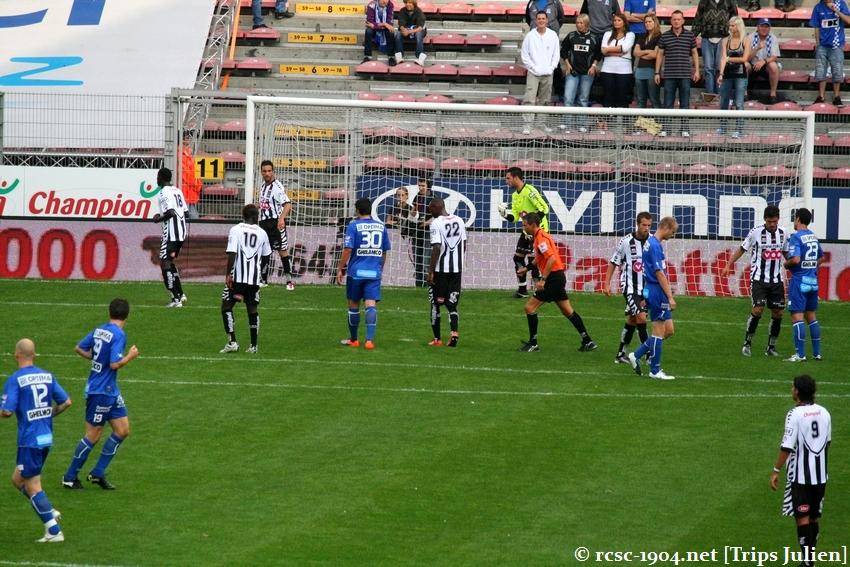 R.Charleroi.S.C. - K.A.A.Gent. [Photos] 1 - 3 1008221139551011236612525