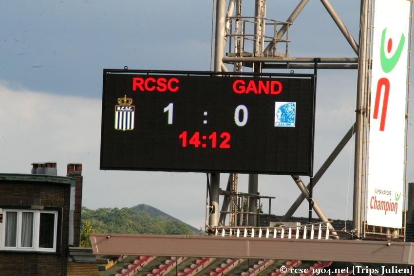 R.Charleroi.S.C. - K.A.A.Gent. [Photos] 1 - 3 1008221141301011236612538