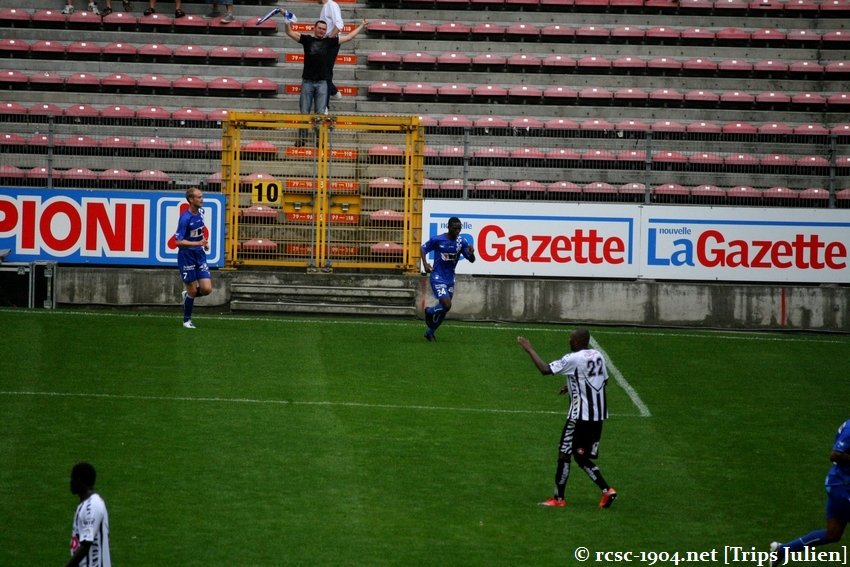 R.Charleroi.S.C. - K.A.A.Gent. [Photos] 1 - 3 1008221143421011236612554