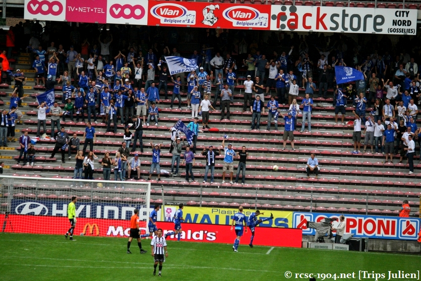 R.Charleroi.S.C. - K.A.A.Gent. [Photos] 1 - 3 1008221147401011236612580