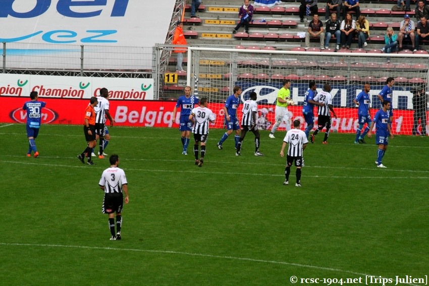 R.Charleroi.S.C. - K.A.A.Gent. [Photos] 1 - 3 1008221152281011236612615