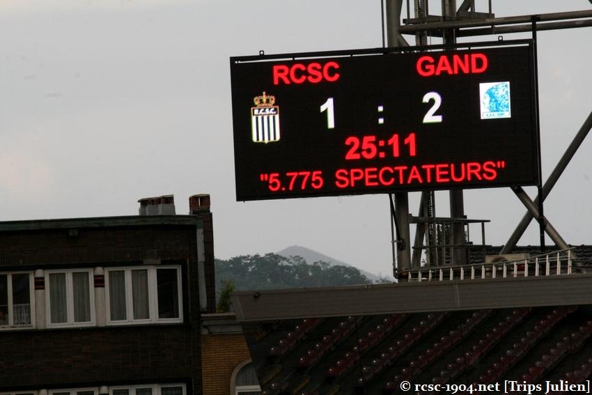 R.Charleroi.S.C. - K.A.A.Gent. [Photos] 1 - 3 1008221153521011236612622