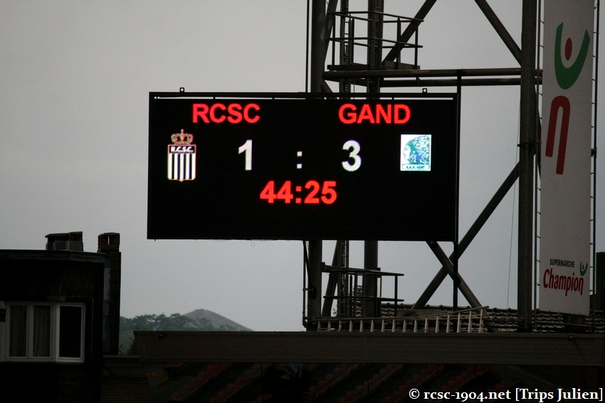 R.Charleroi.S.C. - K.A.A.Gent. [Photos] 1 - 3 1008231204341011236612678