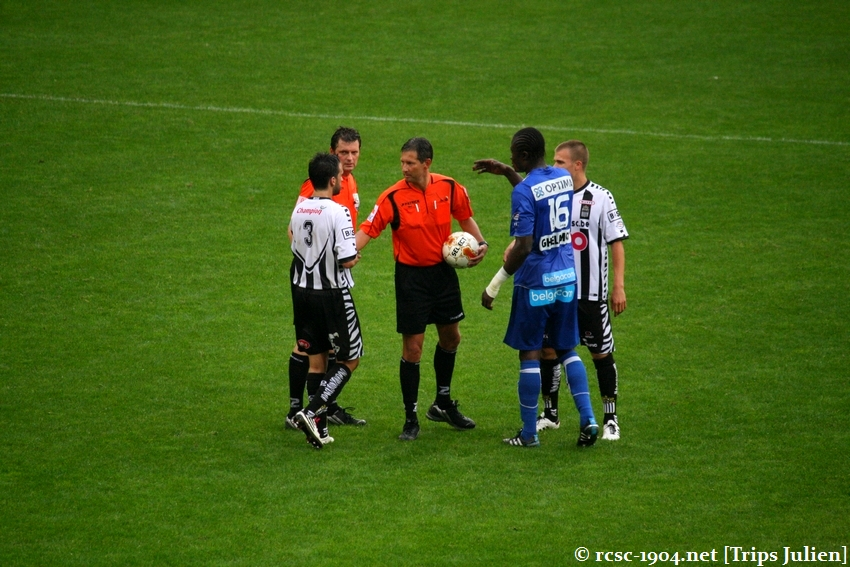 R.Charleroi.S.C. - K.A.A.Gent. [Photos] 1 - 3 1008231205251011236612680