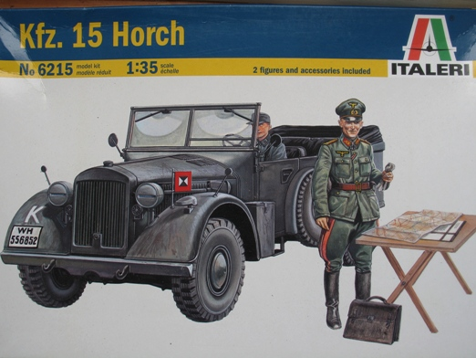Horch Kfz.15 Italeri 1/35 100828053434667016648815