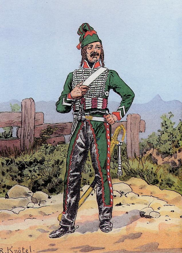 Officier de Hussard en Tenue de Nankin. (Il est fini,...enfin!) 100831033826359346667387