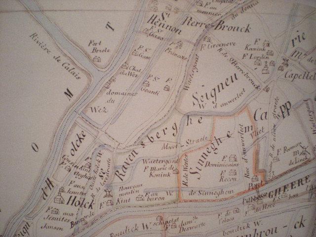 Oude kaarten, gravures en tekeningen van Frans-Vlaanderen 100925101408970736817310