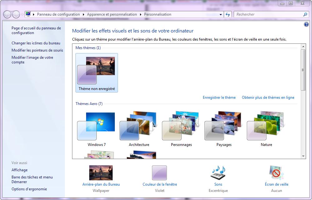 PC Astuces  Changer le fond d'écran de Windows 7 Starter