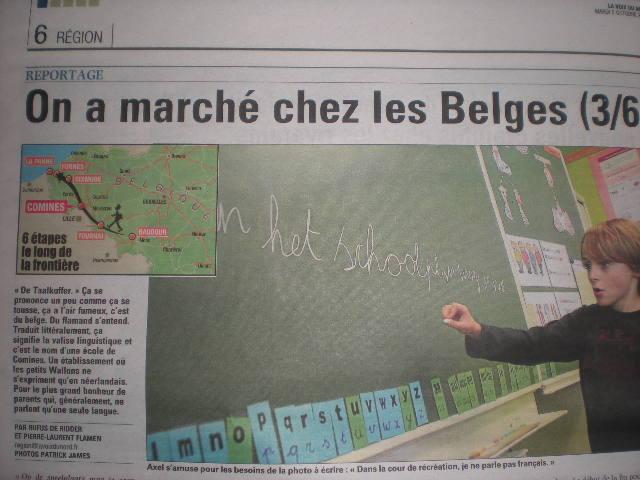 Franstalige kinderen op school in West-Vlaanderen 101005022644970736872341