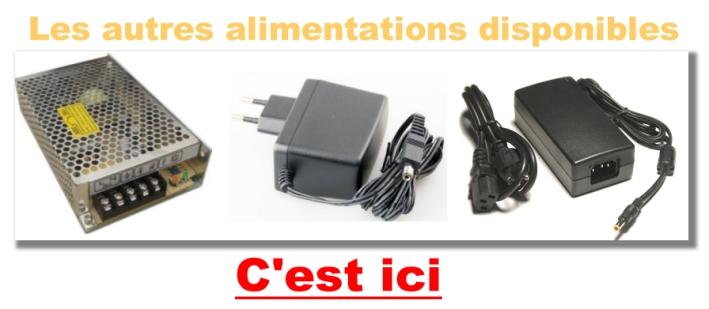 12V 5A  60w connecteur 5,5x2,1mm 611# Alimentation à découpage 220
