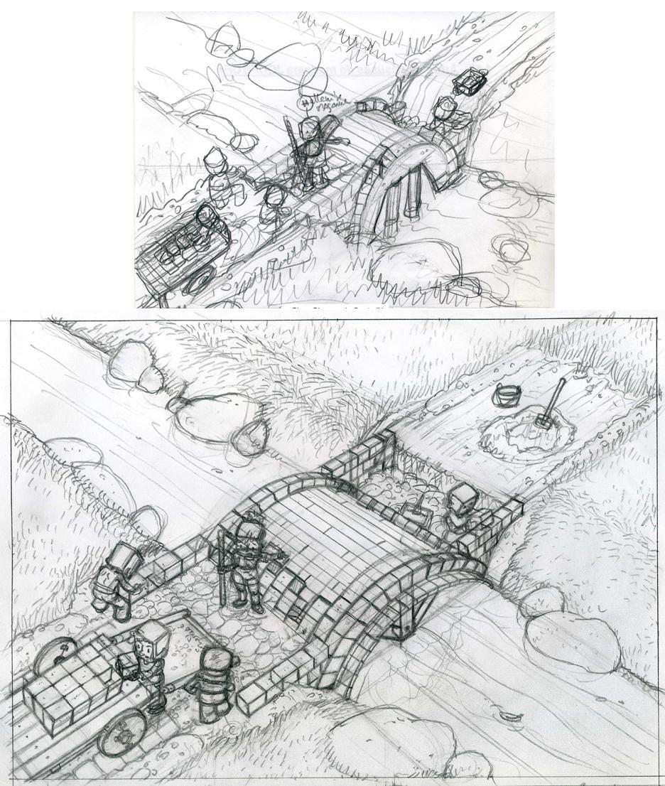 Story et crayonné c1 p11 T3