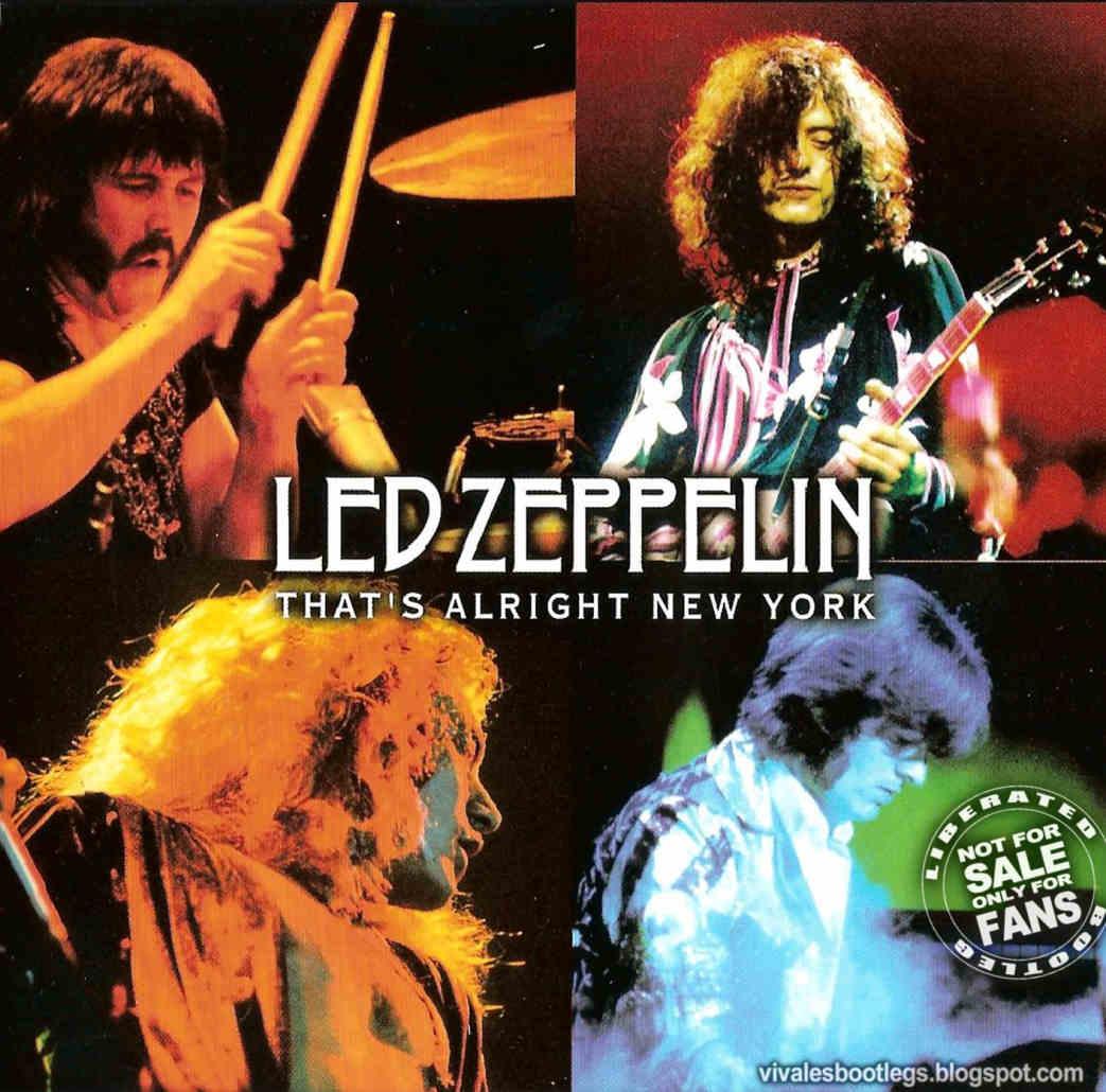 Led Zeppelin 1975 Thats Alright NY front