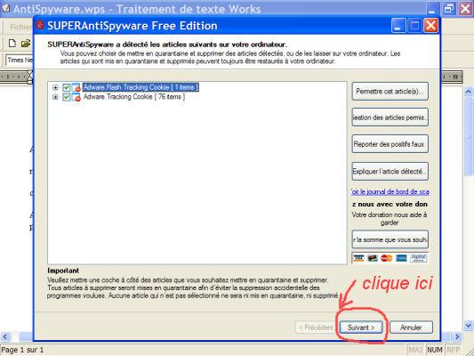 AntiSpyware - logiciel gratuit anti-mouchards (programmes espions) 1010160950001137786930709