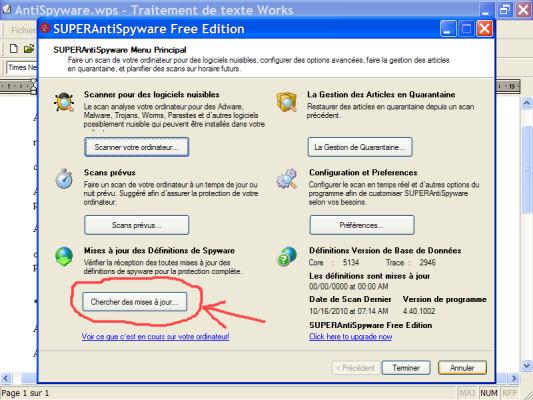 AntiSpyware - logiciel gratuit anti-mouchards (programmes espions) 1010160950011137786930711
