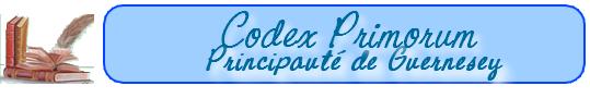 Les lois de la Principauté de Guernesey    (au 15-10-1652) 101019091818129336948982