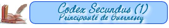 Les lois de la Principauté de Guernesey    (au 15-10-1652) 101019091818129336948983