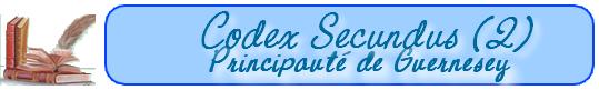 Les lois de la Principauté de Guernesey    (au 15-10-1652) 101019091819129336948984