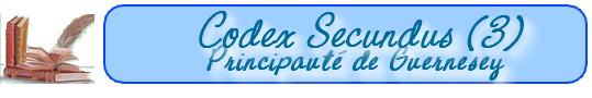 Les lois de la Principauté de Guernesey    (au 15-10-1652) 101019091819129336948985