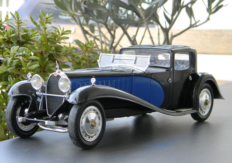 my gallery of bugatti royales (1/24 scale) - under glass - model