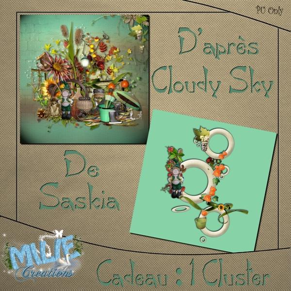 Milie_ PVCluster Kit Cloudy Sky by Saskia