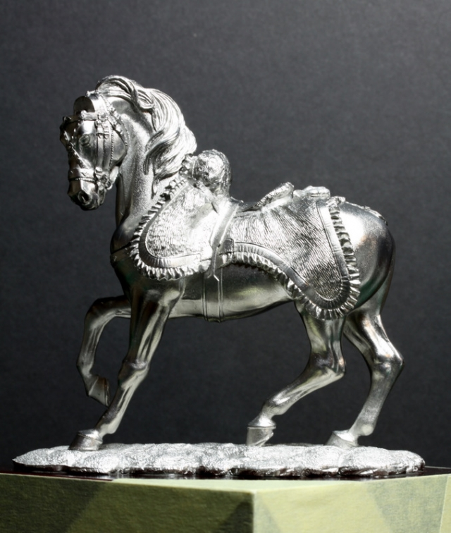 Officier de hussards - Pegaso 75mm 101031025921590207028324