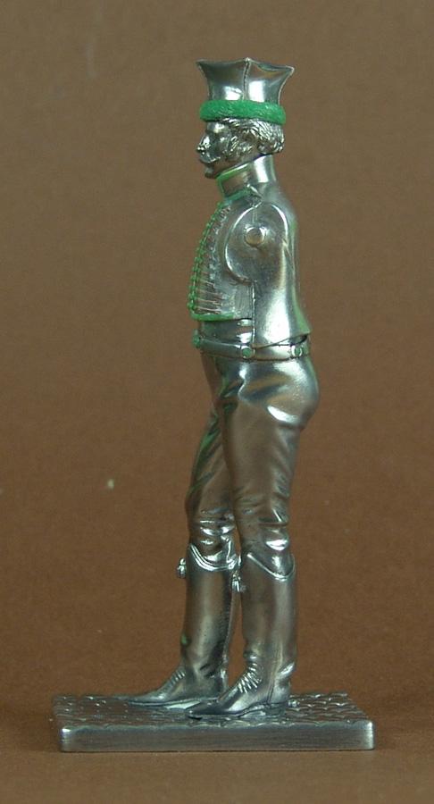 Officier de Hussard en Tenue de Nankin. (Il est fini,...enfin!) 101104020144359347053280