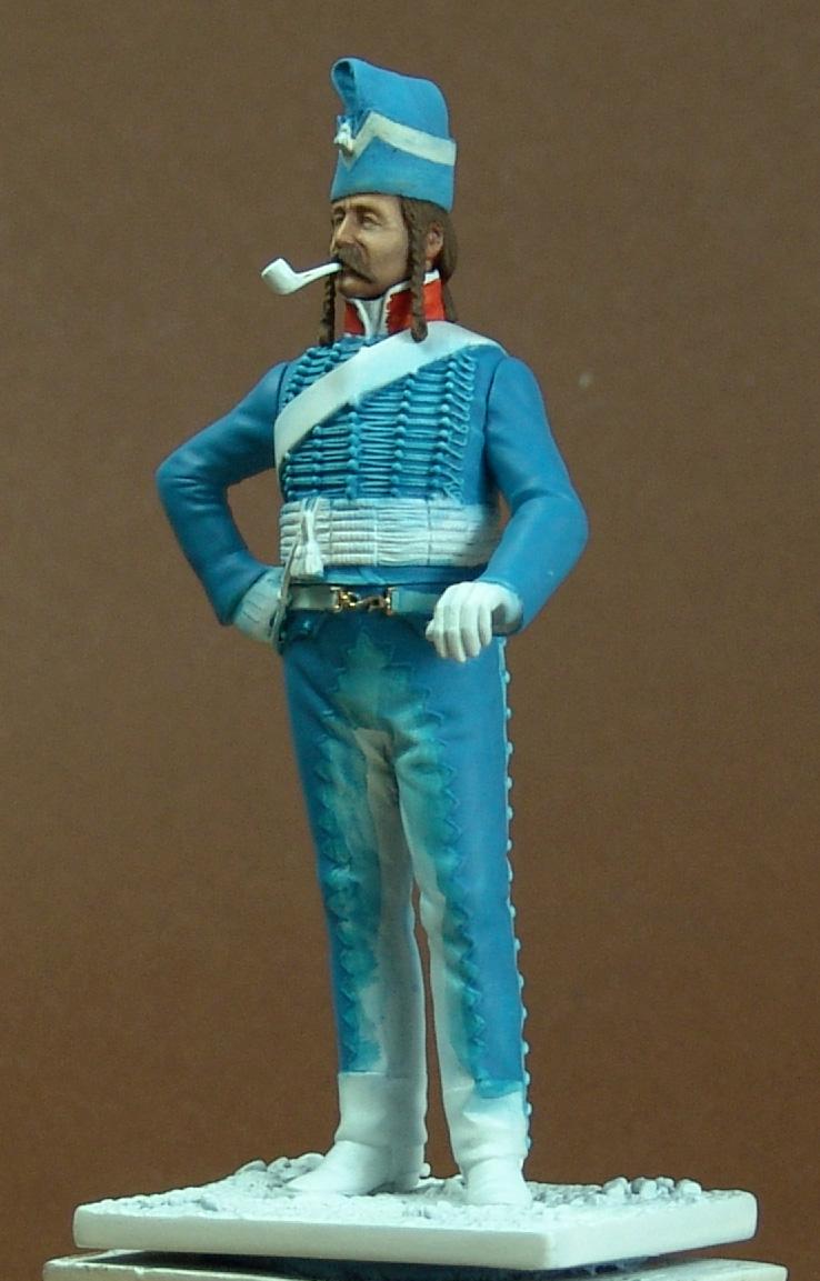 Maréchal des logis du 10 ème Hussard, tenue de cantonnement 101105115844359347062537