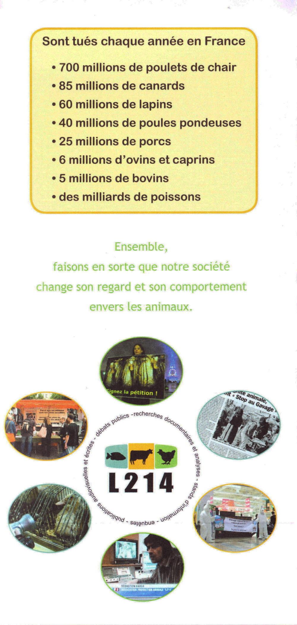 Abolition du foie gras 11/11/2010 Paris : compte-rendu 101111040705853867097088