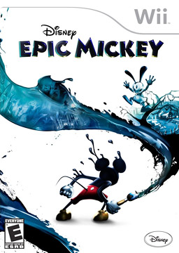 Disney Epic Mickey Poster