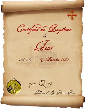 Registre des Baptêmes et des Mariages 101118111446129337138991