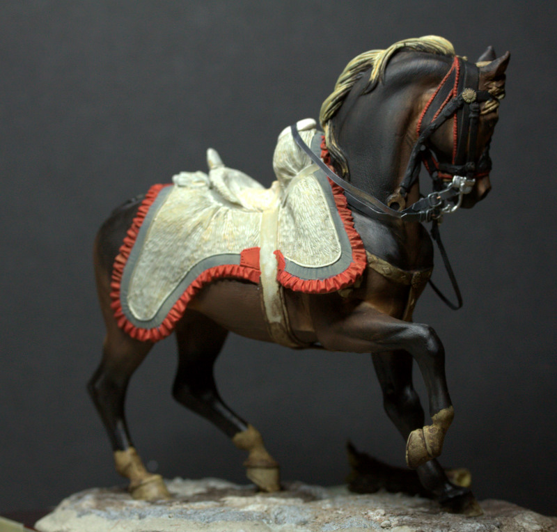 Officier de hussards - Pegaso 75mm 101118034543590207138193