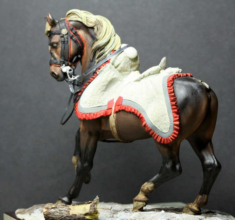 Officier de hussards - Pegaso 75mm 101118034544590207138194