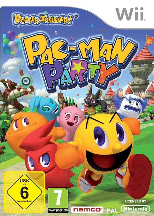Pac-Man Party Poster
